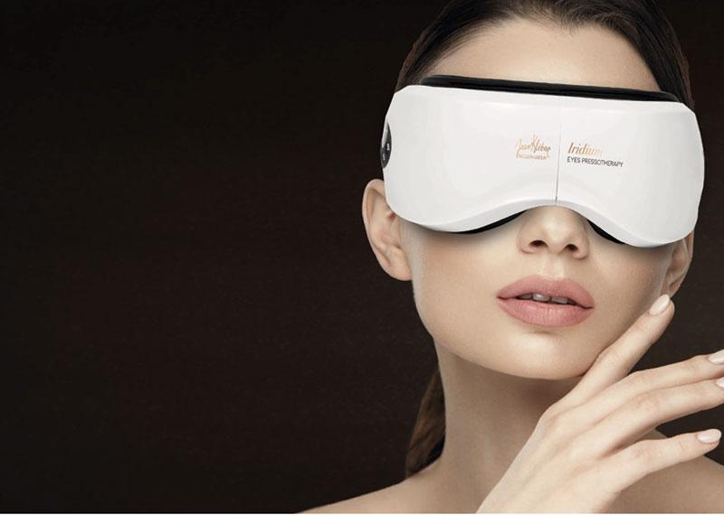 Carmen Navarro incorpora una presoterapia diseñada para los ojos